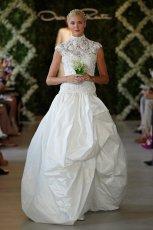 suknia �lubna Oscar de la Renta koronkowa