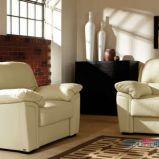 sk�rzana sofa - nowoczesne wn�trza