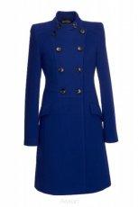 modny p�aszcz Aryton w kolorze kobaltowym - kolekcja jesienno - zimowa 2012/2013