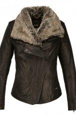 kurtka Ochnik z ko�uszkiem w kolorze czarnym - jesie�-zima 2012/2013