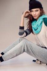 szare spodnie Stefanel   kolekcja jesienna
