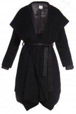 zjawiskowy p�aszcz Monnari w kolorze czarnym - moda jesie�-zima 2012/2013
