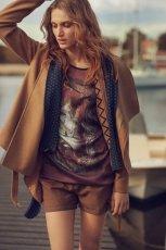 br�zowe szorty Reporter   z kolekcji jesie� 2012