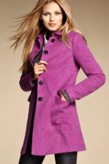 rewelacyjny p�aszcz H&M w kolorze fioletowym - jesie�-zima 2012/2013