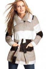 zjawiskowy p�aszcz H&M w paski - kolekcja jesienno-zimowa 2012/2013