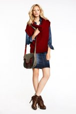Wygodny sweter Big Star w kolorze bordowym - kolekcja jesienno-zimowa