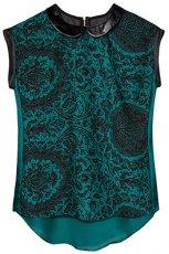 wyj�tkowa koronkowa bluzeczka Reserved - moda damska jesie�-zima 2012/2013
