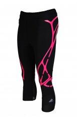 Wygodne dopasowane spodnie Adidas we wzory w kolorze czarnym   sezon jesienno-zimowy 2012/ 2013