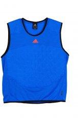 Modna kr�tka koszulka Adidas w kolorze niebieskim - moda 2012/13