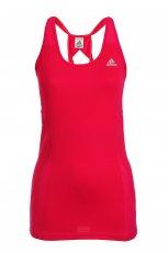 Sportowy top Adidas w kolorze czerwonym - moda 2012/13