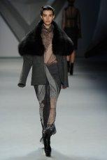 popielata sp�dnica Vera Wang we wzory  z kolekcji jesiennej 2012