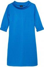 jesienna sukienka Reserved w kolorze niebieskim   - kolekcja jesienno-zimowa 2012/13