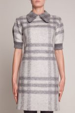 jesienna sukienka Simple w kratk�  - sukienki 2012/13
