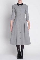 oryginalna sukienka Simple w kolorze szarym   - moda damska 2012/13
