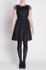 elegancka sukienka Simple w kolorze czarnym  - sukienki 2012/13