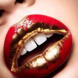 Usta malowane