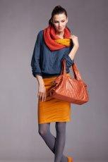 bluzka Moodo w kolorze granatowym  - moda damska 2012/13