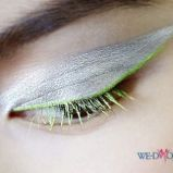 Zielony eyeliner Dior kolekcja jesienna