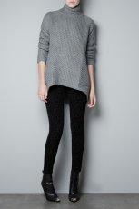 sweter ZARA   - swetry na jesie� i zim� 2012/13