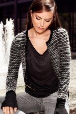 zjawiskowa narzutka H&M   - swetry na jesie� i zim� 2012/13