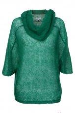 modny sweter Solar w kolorze zielonym - swetry na jesie� i zim� 2012/13