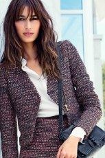 katanka - marynarka H&M - trendy na jesie� i zim�