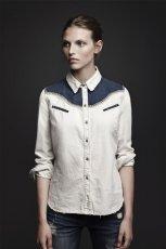 modna koszula ZARA w kolorze bia�ym - moda na jesie�