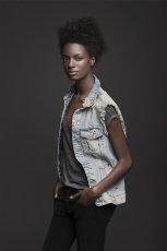 jeansowa kamizelka ZARA - kolekcja damska
