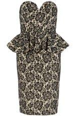 sukienka Dorothy Perkins z haftem - jesie�-zima 2012/2013