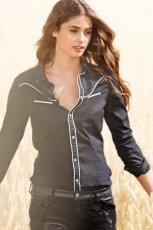 Urocza koszula H&M z guzikami jesienno-zimowa 2012/13