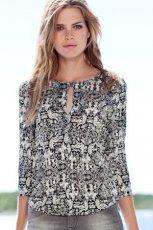 Urocza koszula H&M we wzorki jesie�/zima 2012/2013