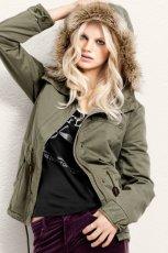 kurtka H&M w kolorze khaki - jesie�/zima 2012/2013