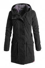 Dziewcz�ca czarna kurtka ESPRIT z kapturem jesie�/zima 2012/2013