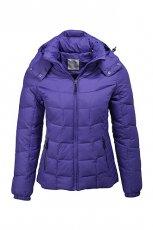 Pi�kna fioletowa kurtka ESPRIT pikowana  jesienno-zimowa 2012/13
