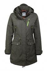Dziewcz�ca popielata kurtka ESPRIT z kapturem  jesienno-zimowa 2012/13