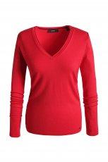 Urocza czerwona bluzka ESPRIT  moda jesie� zima 2012/ 2013
