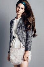 kr�tka sp�dnica H&M w kolorze ecru - sp�dniczki na jesie� i zim�