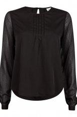 urocza bluzeczka Cubus w kolorze czarnym - moda damska 2012/13