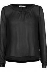 elegancka koszula Cubus w kolorze czarnym - moda na jesie� i zim�