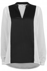 koszula Cubus w kolorze bia�o - czarnym - moda na jesie� i zim�