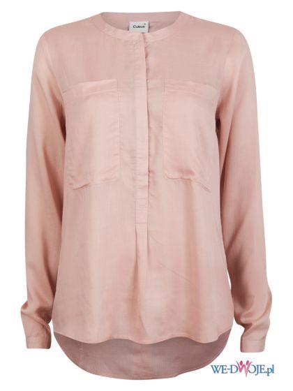 asymetryczna koszula Cubus w kolorze jasnor�owym - jesie� i zima 2012/13