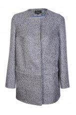 prosty p�aszcz Caterina w kolorze popielatym - moda na jesie� i zim�