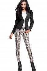 legginsy H&M we wzorki - moda na jesie� i zim�