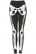 dopasowane legginsy Topshop w kolorze czarnym - moda damska na jesie� i zim�