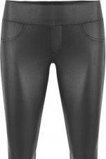 sk�rzane legginsy Tally Weijl w kolorze czarnym - moda damska 2012/13