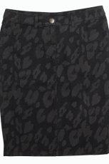 mini sp�dnica F&F w kolorze czarnym - moda na jesie� i zim�