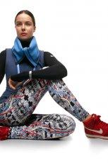 legginsy Nike we wzorki - jesie�/zima 2012/2013