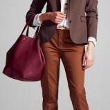 spodnie Camaieu w kolorze musztardowym - jesie�/zima 2012/2013