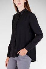 elegancka koszula Stradivarius w kolorze czarnym - jesie� i zima 2012/13