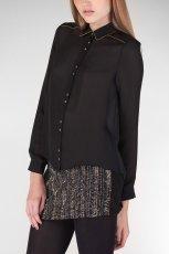 klasyczna koszula Stradivarius w kolorze czarnym - moda damska 2012/13